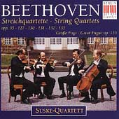 Beethoven: The Late String Quartets / Suske Quartett