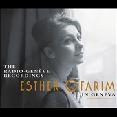 Esther Ofrarim: Esther Ofrarim In Geneva: The Radio-Genève Recordings [Digipak]