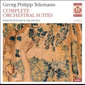 Georg Phillip Telemann: Complete Orchestral Suites, Vol. 2 / Pratum Integrum Orch.