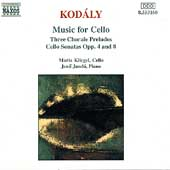 Kodály: Music for Cello / Maria Kliegel, Jenö Jandó