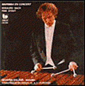 Rosauro: Marimba Concerto;  Bach, etc / Severin Balzer