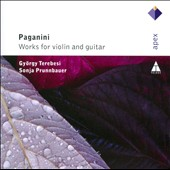 Paganini: Works for Violin & Guitar / Gyorgy Terebesi, violin; Sonja Prunnbauer, guitar