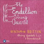 Benjamin Britten: String Quartets Nos.1, 2 & 3; Divertimenti (3) / The Endellion Quartet