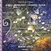 Poems for Piano - Gould, Persichetti, et al / Mirian Conti