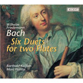 WF Bach: Flute Duets / Kuijken, Hantai