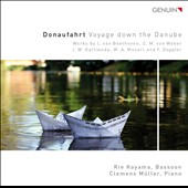 Voyage Down the Danube: Music for Bassoon & Piano, by Beethoven, Weber, Mozart et al. / Rie Koyama, bassoon; Clemens Müller, piano