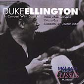 Duke Ellington: Alhambra: Oct 27th 1958