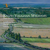 Vaughan Williams: Music for Two Pianos / Goldstone Glemmow, piano