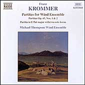 Krommer: Partitas for Wind Ensemble / Thompson Wind Ensemble