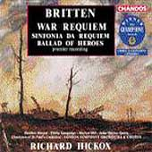 Britten: War Requiem, Sinfonia da Requiem, etc / Hickox