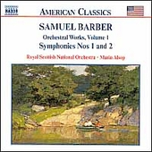 American Classics - Barber: Orchestral Works Vol 1 / Alsop