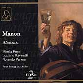 Massenet: Manon / Maag, Freni, Pavarotti, Panerai, et al