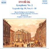 Dvorak: Symphony No 2, Legends / Stephen Gunzenhauser