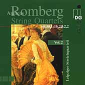 A. Romberg: String Quartets Vol 2 / Leipzig Quartet