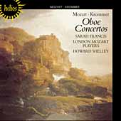 Mozart, Krommer: Oboe Concertos / Francis, Shelley, et al