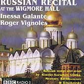 Russian Recital at the Wigmore Hall / Galante, Vignoles