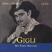 Debut Series - Gigli - My First Record