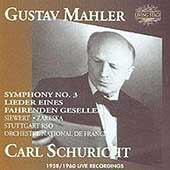 Mahler: Symphony no 3, Lieder / Schuricht, Zareska, et al