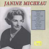 Janine Micheau sings Thomas, Charpentier, Bizet, et al