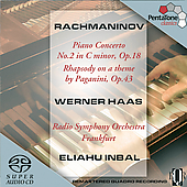 Rachmaninov: Piano Concerto no 2, etc / Haas, Inbal, et al