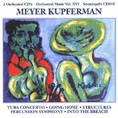 Kupferman: Orchestral Works Vol 16 - Tuba Concerto, etc
