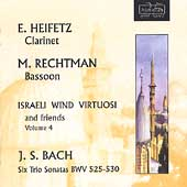 Israeli Wind Virtuosi & Friends Vol 4 - J.S. Bach