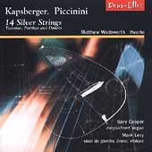14 Silver Strings - Kapsberger, Piccinini / Wadsworth, Levy