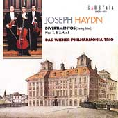 Haydn: String Trios / Vienna Philharmonic Trio