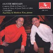 Messiaen: Complete Works for Piano Vol 3 / Paul & Matt Kim