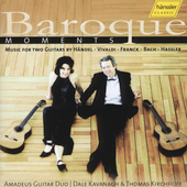 Baroque Moments / Amadeus Guitar Duo