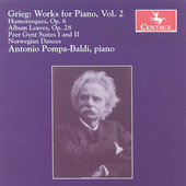 Grieg: Works for Piano Vol 2 / Pompa-Baldi