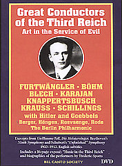 Great Conductors Of The Third Reich: Blech / Bohm / Furtwangler / Kraus [DVD]
