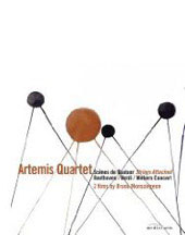 Strings Attached - The Artemis Quartet / Beethoven, Verdi, Webern [DVD]