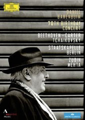 Daniel Barenboim / 70th Birthday Concert - Beethoven: Piano Concerto no 3; Carter: Dialogues II; Tchaikovsky: Piano Concerto No. 1 [DVD]