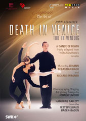 Elegance, The Art of Patrice Bart: Death In Venice, a dance of death freely adapted from Thomas Mann's Novella. Music by Bach & Wagner / Hamburg Ballett [DVD]