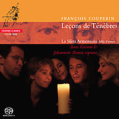 Couperin: Le&ccedil;ons de T&eacute;n&egrave;bres / Fentross, Grimm, Zomer, et al