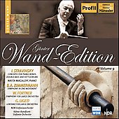 G&#252;nter Wand Edition - Stravinsky, Fortner, Ligeti, et al