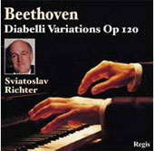 Beethoven: Diabelli Variations Op 120;  Mozart / Richter