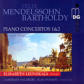 Mendelssohn: Piano Concerto no 1 & 2, etc / Leonskaja