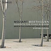 Mozart, Beethoven: Quintets for Piano and Winds / Hough