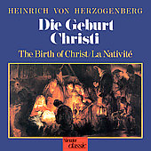 Herzogenberg: Die Geburt Christi / Grube, Schudel, et al