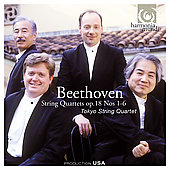 Beethoven: String Quartets Op. 18 no 1-6 / Tokyo SQ