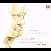 Mozart: Violin Concertos / Andrade, Masur, et al