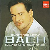 Bach: Complete Flute Sonatas / Emmanuel Pahud, Trevor Pinnock