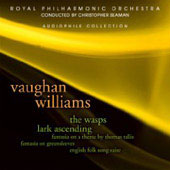 Vaughan Williams: Wasps, The Lark Ascending, etc / Seaman, Carney, et al