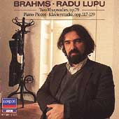 Brahms: Two Rhapsodies Op 79, etc / Radu Lupu