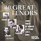 10 Great Tenors