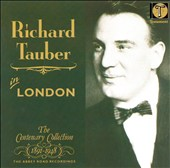 Richard Tauber in London