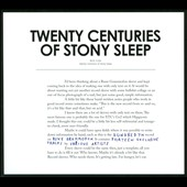Various Artists: Twenty Centuries of Stony Sleep [Digipak]