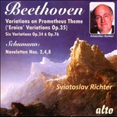 Beethoven: Eroica Variations / Sviatoslav Richter, piano